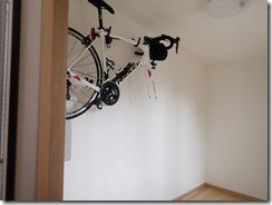 テレワーク用ミニハウス自転車ラック